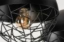 Hanglamp 73402: modern, metaal, zwart, mat #11