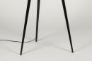 Vloerlamp 73596: design, modern, metaal, zwart #4