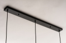 Hanglamp 73629: modern, retro, glas, metaal #11