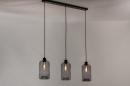 Hanglamp 73629: modern, retro, glas, metaal #2