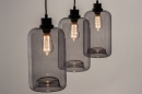 Hanglamp 73629: modern, retro, glas, metaal #4