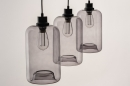 Hanglamp 73629: modern, retro, glas, metaal #5