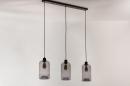 Hanglamp 73629: modern, retro, glas, metaal #7