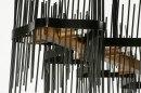 Hanglamp 73696: design, modern, metaal, zwart #11