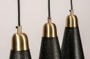 Hanglamp 73803: modern, retro, eigentijds klassiek, messing #11