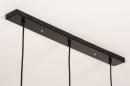 Hanglamp 73803: modern, retro, eigentijds klassiek, messing #12