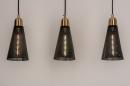 Hanglamp 73803: modern, retro, eigentijds klassiek, messing #5
