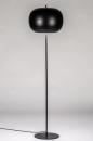 Vloerlamp 73813: modern, retro, metaal, zwart #2