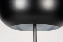 Vloerlamp 73813: modern, retro, metaal, zwart #7
