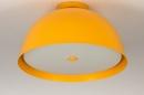 Plafondlamp 73820: sale, modern, metaal, geel #1