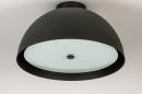 Plafondlamp 73821: sale, modern, metaal, zwart #1
