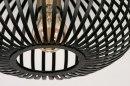 Plafondlamp 73839: modern, retro, metaal, zwart #3