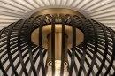 Plafondlamp 73839: modern, retro, metaal, zwart #5