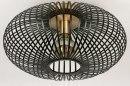 Plafondlamp 73841: industrie, look, landelijk, rustiek #2