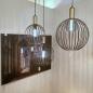 Hanglamp 73843: modern, eigentijds klassiek, art deco, metaal #10