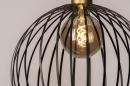 Hanglamp 73843: modern, eigentijds klassiek, art deco, metaal #6