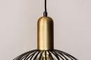 Hanglamp 73843: modern, eigentijds klassiek, art deco, metaal #8