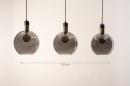 Hanglamp 73847: modern, eigentijds klassiek, art deco, glas #14
