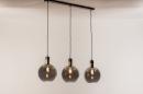 Hanglamp 73847: modern, eigentijds klassiek, art deco, glas #15
