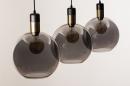 Hanglamp 73847: modern, eigentijds klassiek, art deco, glas #18