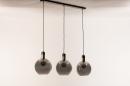 Hanglamp 73847: modern, eigentijds klassiek, art deco, glas #20