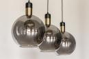 Hanglamp 73847: modern, eigentijds klassiek, art deco, glas #22