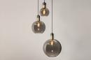 Hanglamp 73848: modern, eigentijds klassiek, art deco, glas #15