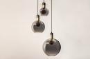 Hanglamp 73848: modern, eigentijds klassiek, art deco, glas #16