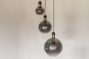 Hanglamp 73848: modern, eigentijds klassiek, art deco, glas #18