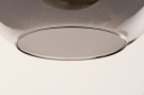Hanglamp 73848: modern, eigentijds klassiek, art deco, glas #20