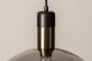Hanglamp 73848: modern, eigentijds klassiek, art deco, glas #21