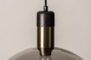 Hanglamp 73851: modern, retro, glas, zwart #16