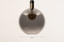 Hanglamp 73851: modern, retro, glas, zwart #9