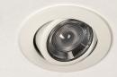 Inbouwspot 73870: modern, aluminium, metaal, wit #10