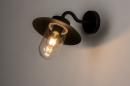 Buitenlamp 73888: landelijk rustiek, modern, eigentijds klassiek, glas #1