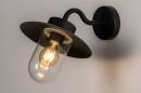 Buitenlamp 73888: landelijk rustiek, modern, eigentijds klassiek, glas #2
