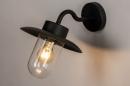 Buitenlamp 73888: landelijk rustiek, modern, eigentijds klassiek, glas #3