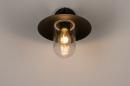 Buitenlamp 73888: landelijk rustiek, modern, eigentijds klassiek, glas #4