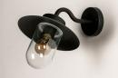 Buitenlamp 73888: landelijk rustiek, modern, eigentijds klassiek, glas #6