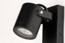 Buitenlamp 73890: industrie, look, modern, aluminium #8