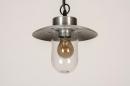 Buitenlamp 73893: landelijk, rustiek, modern, aluminium #4