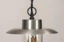 Buitenlamp 73893: landelijk, rustiek, modern, aluminium #7