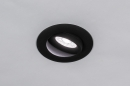 Spot encastrable 73902: design, moderne, aluminium, noir #14