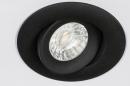 Spot encastrable 73902: design, moderne, aluminium, noir #17
