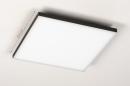 Plafondlamp 73915: design, modern, kunststof, metaal #1