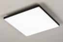 Plafondlamp 73915: design, modern, kunststof, metaal #2