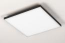 Plafondlamp 73915: design, modern, kunststof, metaal #5