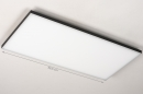 Plafondlamp 73916: design, modern, kunststof, metaal #1
