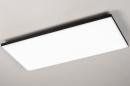 Plafondlamp 73916: design, modern, kunststof, metaal #2