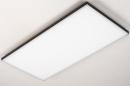 Plafondlamp 73916: design, modern, kunststof, metaal #5
